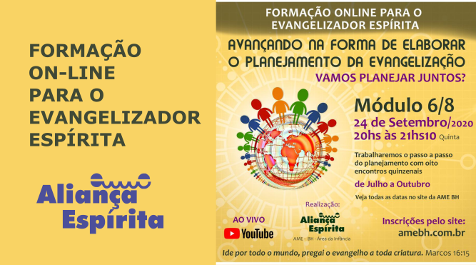 FORMAÇÃO ON-LINE PARA O EVANGELIZADOR