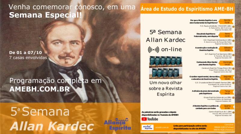 Semana Allan Kardec 2020